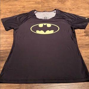 Men's fitted under armour Batman t-shirt